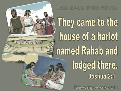 Joshua 2:1 They Came To The Houese Of A Harlet Named Rahab (sage)