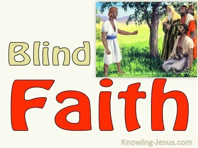 JOB - Blind Faith (devotional)