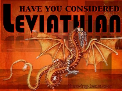 JOB - Have You Considered Leviathan (devotional)