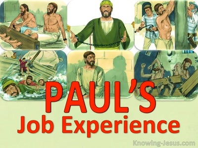 Pauls Job Experience (devotional)01-31 (green)