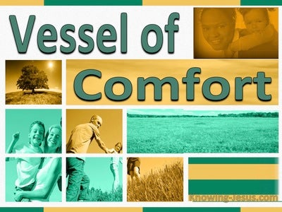 Vessel Of Comfort (devotional) (green)