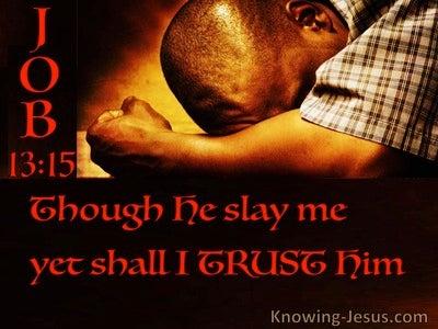 Job 13:15 Blind Faith (devotional)01:22 (black)