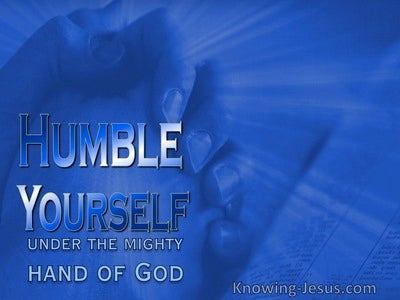 1 Peter 5:6 Have You Considered Job's Friends (devotional)02:06 (blue)