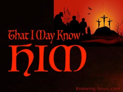 Philippians 3:10 The Believer's Choice (devotional)01:24 (red)