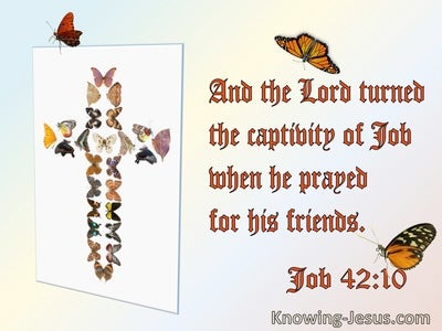 Job 42:10 And The Lord Turned The Captivity Of Job When He Prayed For His Friends (utmost)06:20