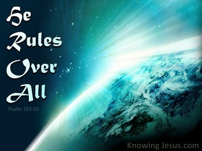 He Rules Over All (devotional)