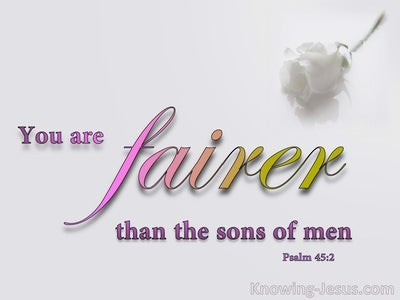 Psalm 45:2 Grace Is Poured On Your Lips (pink)
