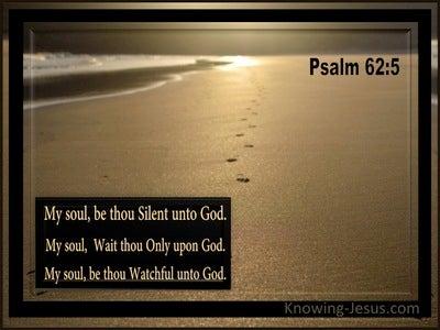 Psalm 62:5 Sacrifice Of Silence (devotional)07:04 (black)