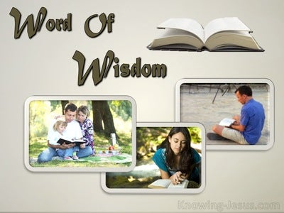 Words of Wisdom (devotional)