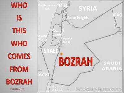 Isaiah 63:1 Who Is This From Bozrah (gray)