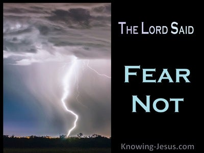 Lamentations 3:57 You Drew Near When I Called And Said Fear Not (white)