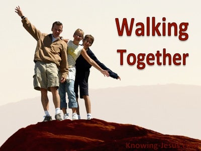 Walking Together (devotional) (red)