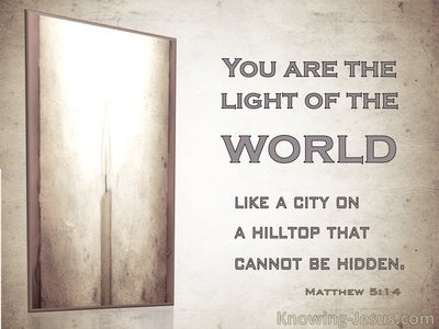 Matthew 5:14 You Are The Light Of The World (windows)12:04