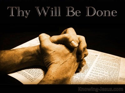 What To Pray (devotional) (beige) - Matthew 6:10
