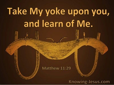 Matthew 11:29 Take My Yoke Upon You And Learn Of Me (utmost)04:14