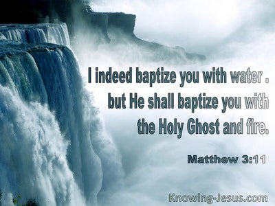 Matthew 3:11 He Shall Baptise You With The Holy Spirit And Fire (utmost)08:22
