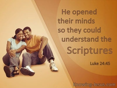 Luke 24:45 He Opened Their Minds To Understand The Scriptures (windows)04:17