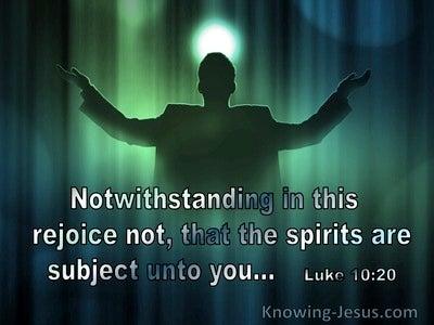Luke 10:20 Rejoice Not That Spirits Are Subject Unto You (utmost)04:24