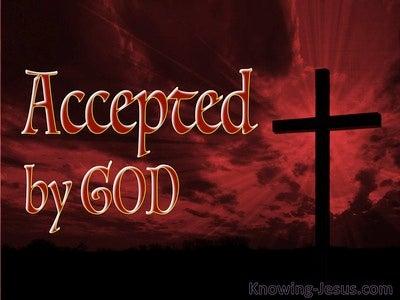 Luke 18:14 Accepted by God (devotional)03:28 (maroon)