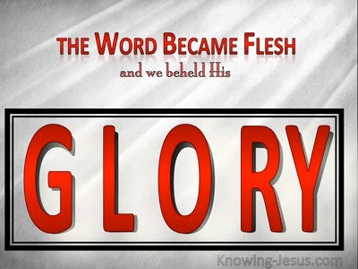 John 1:14 The Word Became Flesh (red)