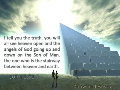 John 1:51 You Will See Heaven Open And The Angels Of God Going Down On The Son Of Man (windows)09:25