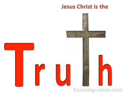 The Truth (white) - John 14:6