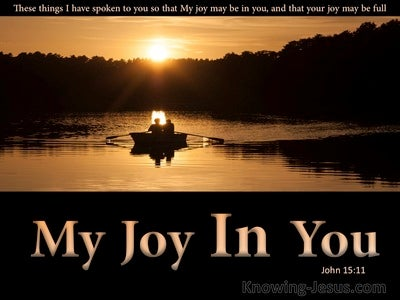 John 15:11 That Your Joy May Be Full (black)
