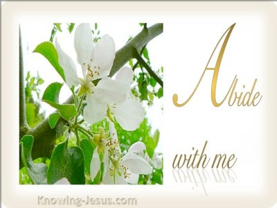 Abide With Me (devotional) (white)