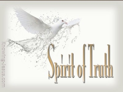 John 16:13 Spirit Of Truth (beige)