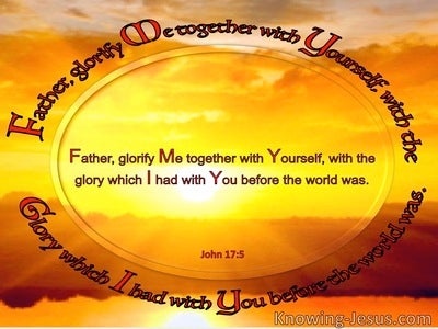 John 17:5 Father, Glorify Me With Yourself (windows)01:18