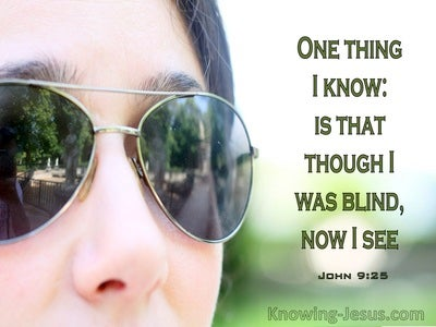 John 9:25 Though I Was Blind Now I See (windows)01:27