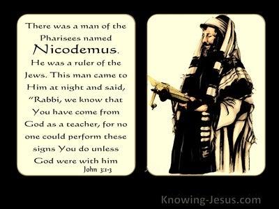 John  3-1 There Was A Man Named Nicodemus (yellow)