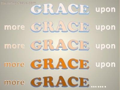 John 1:16 Grace Upon Grace (devotional)12:31   (pink)