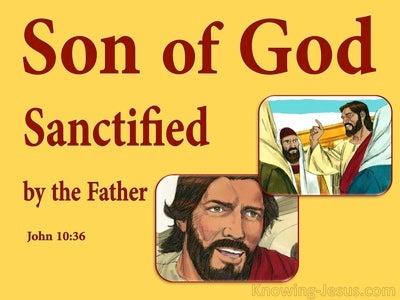John 10:36 Do You Say I Am Blaspheming (yellow)