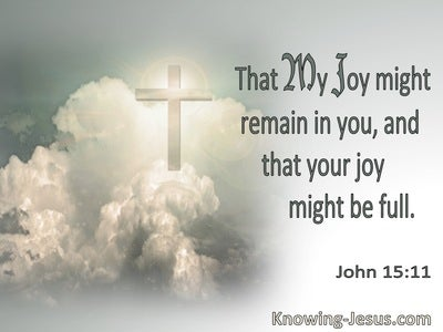 John 15:11 That My Joy Might Remain In You And Your Joy Be Full (utmost)08:31