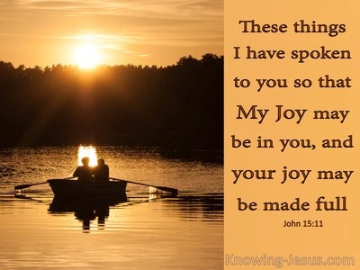 John 15:11 That Your Joy May Be Full (orange)