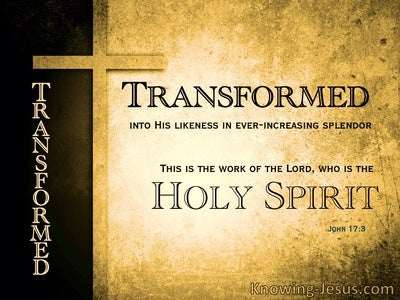 John 17:3 This Is The Work Of The Lord (yellow)