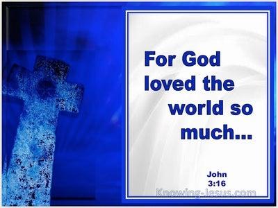 John 3:16 For God So Loved The World (windows)02:01
