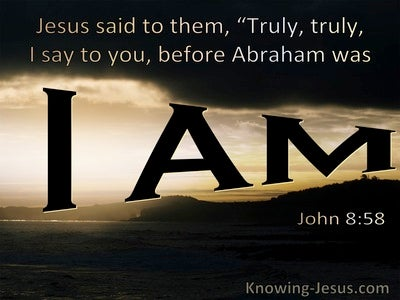 John 8:58 Truly I Say To You Before Abraham Was I Am (windows)07:06