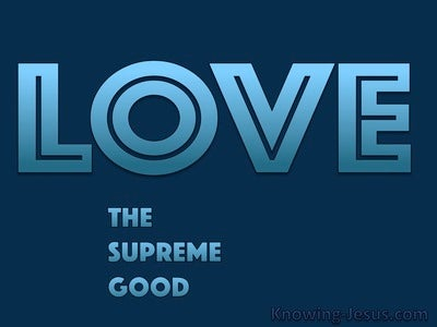 The Supreme Good (devotional) (blue)