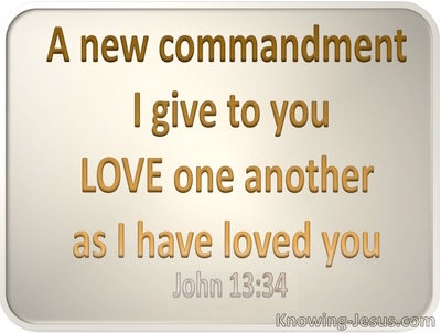 John 3:34  Love As I Have Loved (gold)