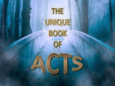 The Unique Book of Acts (devotional)