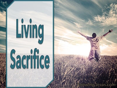 Romans 12:1 Living Sacrifice (devotional)
