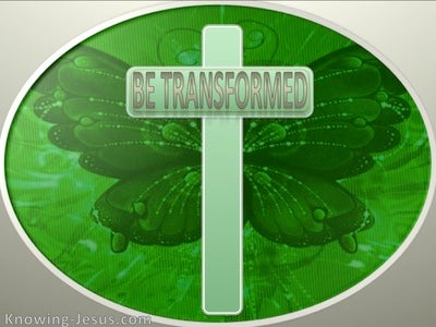 Be Transformed (devotional) (green)