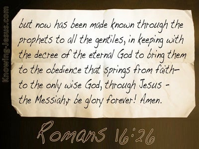 Romans 16:26 Revealed And Made Known (white)