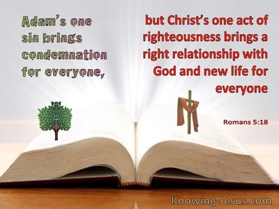 Romans 5:18 Christ's One Act Of Righteousness Brings A Right Relationship With God (windows)07:31
