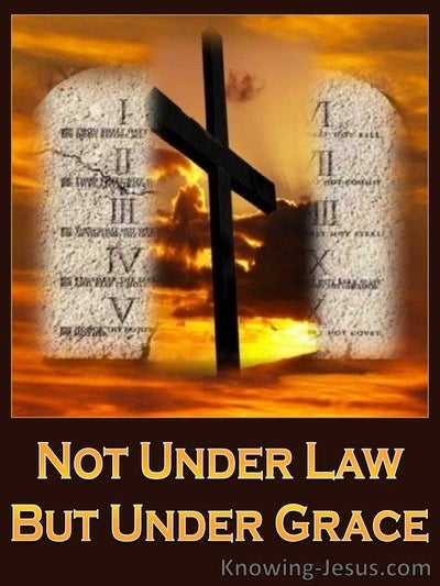 The Law Of Christ (devotional) - Romans 6:14