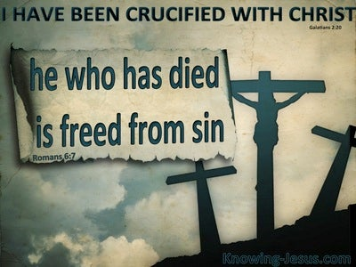 Romans 6:7 He Who Has Died Is Freed From Sin (sage)