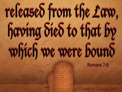 Romans 7:6 We Serve In Newness Of The Spirit (brown)