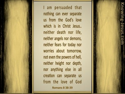 Romans 8:38 Fear Not That Which is After Death (devotional)02:14 (beige)